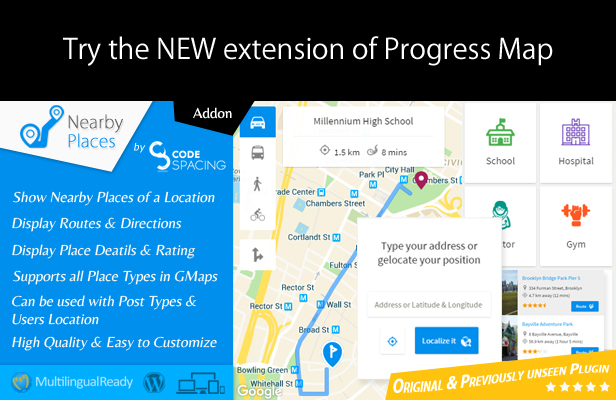 - nearby places ban - Progress Map Wordpress Plugin